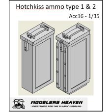 Hotchkiss ammo box type 1 en 2 1/35
