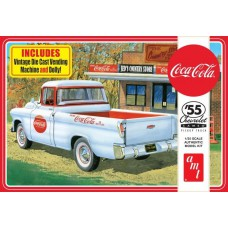 55 Chevy Cameo Pick up Coca Cola 1/25