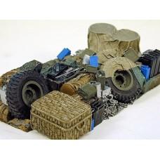 WWII British 3ton truck load 1/35