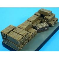 british 95mm Howitzer ammo boxes 1/35