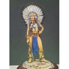 Sioux Warrior 1/22 - 80 mm