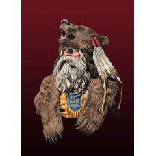 Bear Man busts