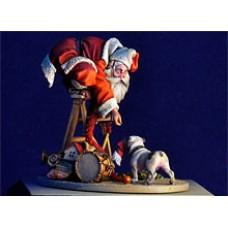 Santa's desguise don't work WWII