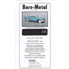 Black Chrome Bare Metal