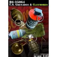 US Grenades & Claymores 1/35