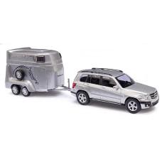 Mercedes GLK + trailer Cars