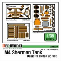 M4 Sherman basic detail up set 1/35
