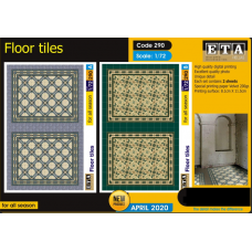 Floor tiles 1/72