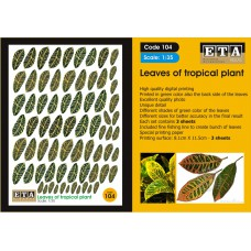 Leaves of tropical plant Landscaping - Scratch building