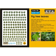 Fig tree leaves Landscaping - Scratch building