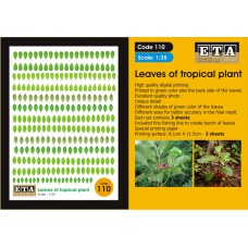 Tropical leaves Landscaping - Scratch building