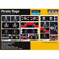 Pirate flags 1/24