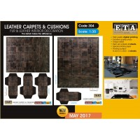 Leather carpets & cushions 1/35