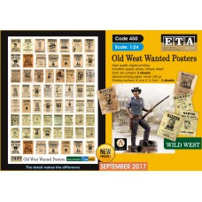 Old West Wanted Posters 1/24