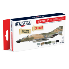 USAF Paint set (vietnam war) Hataka rood