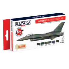 USAF Paint set (europe camouflage) Hataka rood