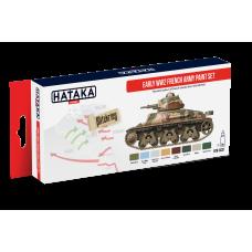 Early WW2 French army Hataka red