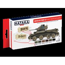 British AFV (WW2 European colours) Hataka red