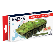 Warsaw pact AFV Hataka red