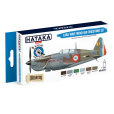 Early WW2 French air force Hataka blauw