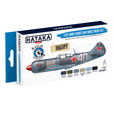 Late WW2 Soviet air force Hataka blauw