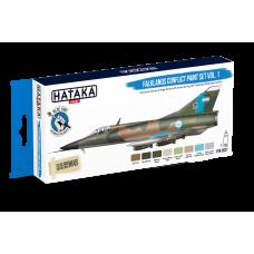 falkland conflict paint set vol1 Hataka blue