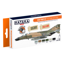 USAF Paint set (vietnam war) Hataka Orange