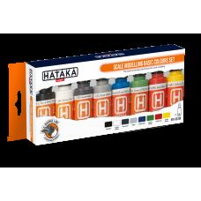 Scale modelling basic colours Hataka oranje