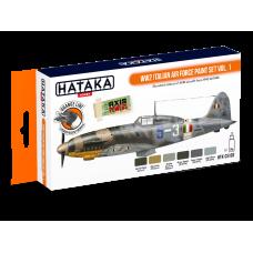 Italian air force set Hataka oranje