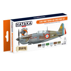 Early WW2 French air force Hataka Orange