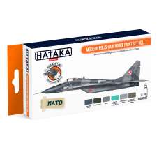Modern Polish Air Force set1 Hataka oranje