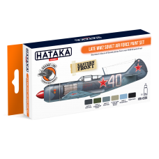 Late WW2 Soviet air force Hataka Orange