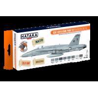USAF,USN & USMC paint set (modern greys) Hataka oranje