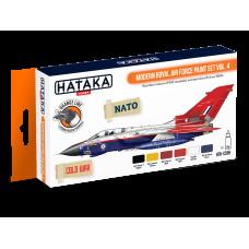 Modern Royal Air force Hataka oranje
