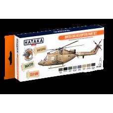 British AAC Helicopters Hataka oranje