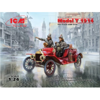 Model T 1914 Fire truck with crew 1/24