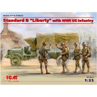 Standard Liberty & infantry 1/35