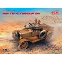 Model T 1917 LCP & Anzac crew 1/35