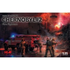 Chernobyl 2 Fire Fighters  1/35