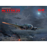 He111H-20 WWII Bomber 1/48