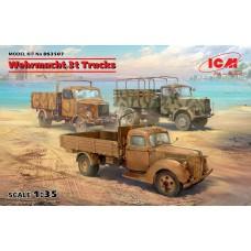 Wehrmacht 3t trucks 1/35