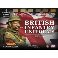 British infantry uniforms WWII Lifecolor