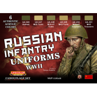 Russian Infantry uniforms WWII Lifecolor