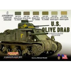 US Olive Drab Lifecolor