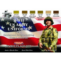 WWII US army uniforms set1 Lifecolor