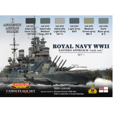 Royal WWII Navy set1 Lifecolor