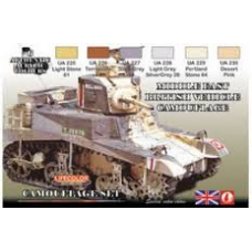 Middle east British vehicle camouflage Lifecolor