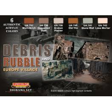 Debris and Rubble Lifecolor