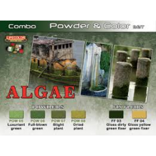 algae powder en color Lifecolor