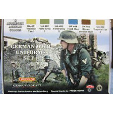 German WWII uniform set1 Lifecolor